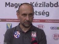 DKKA - KIsvárda 29-25, nyilatkozik György László