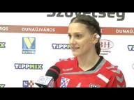 DKKA - Budaörs (33-22) Monori Orsolya nyilatkozik