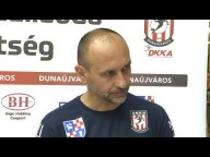 DKKA - Budaörs (33-22) György László nyilatkozik