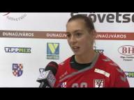 DKKA - Vasas SC 34-21 Cifra Anita(DKKA) nyilatkozik a mérkőzés után