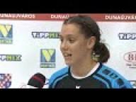 DKKA - Vasas SC 32-21 Arany Rebeka Melinda (Vasas) nyilatkozik