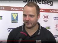 DKKA - Siófok 26-32 Lars Rasmussen nyilatkozik a mérkőzés után