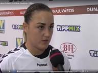 DKKA - Siófok 26-32 Ferenczy Fruzsina nyilatkozik a mérkőzés után