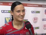 DKKA - Siófok 26-32 Dombi Luca nyilatkozik a mérkőzés után