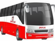 Szurkolói busz a Győri Audi ETO KC elleni mérkőzésre
