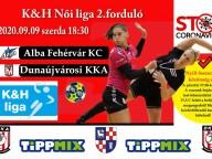 Fejér megyei rangadó: Alba Fehérvár KC - DKKA